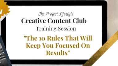 """Content Marketing Training Session"