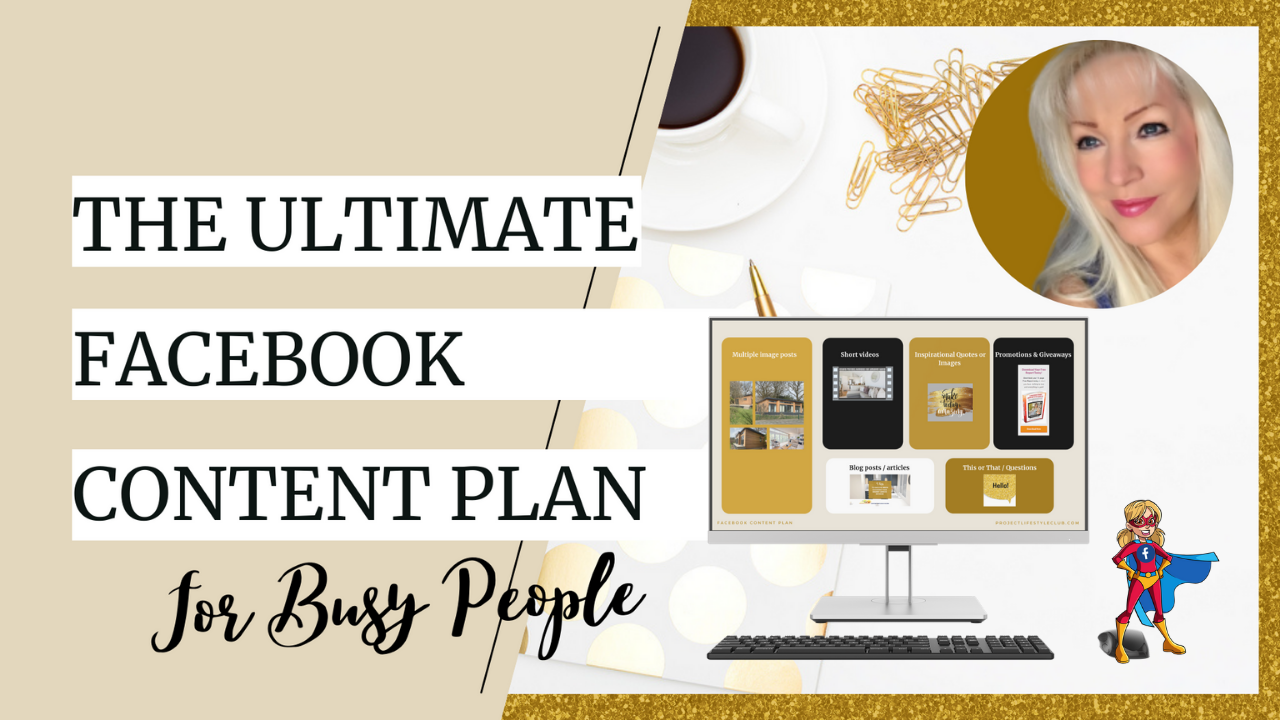 """""""The Ultimate Facebook Content Plan"""""""